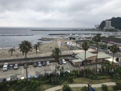 ホテルかつら 熱海サンビーチの眺め