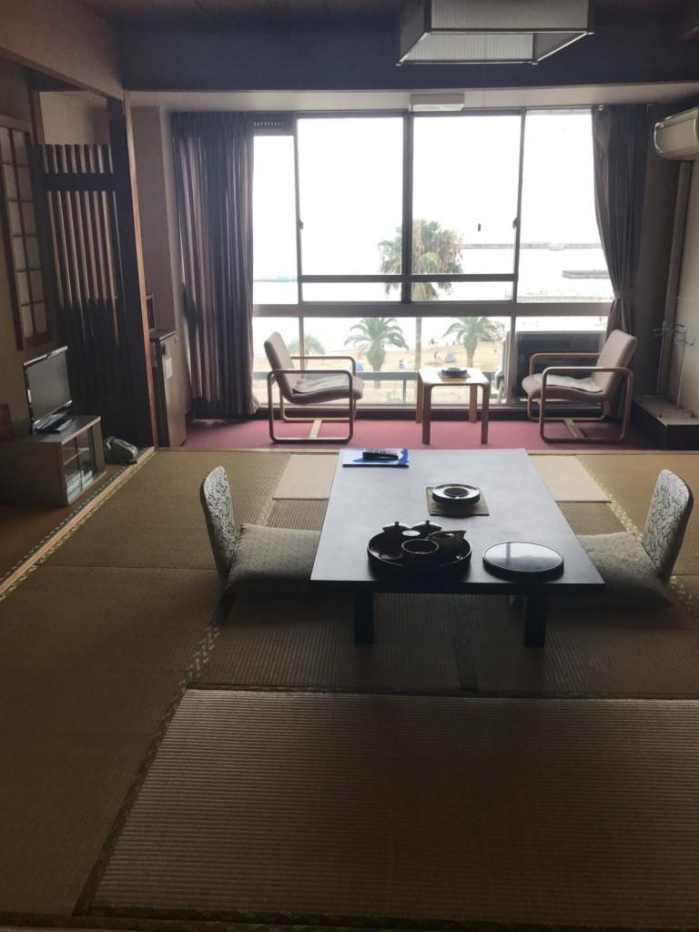 ホテルかつら 客室からの眺め
