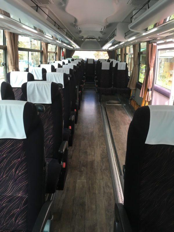 特殊車両:リフト付き・車いす固定型 大型バス