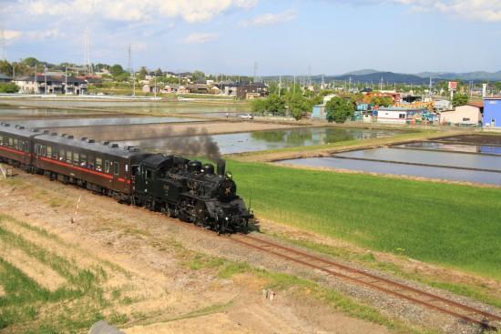 真岡鉄道SL