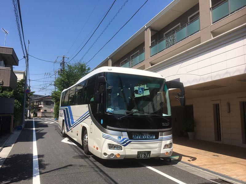 介護旅行-リフト付き大型バス