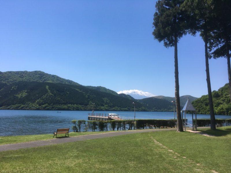 介護旅行-芦ノ湖