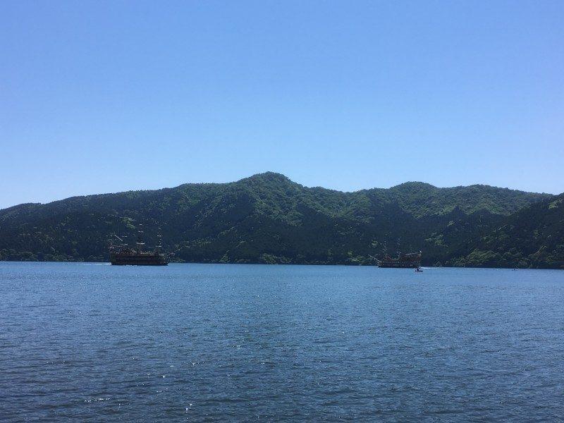 介護旅行-芦ノ湖遊覧船