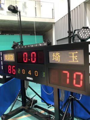 東京サンレーヴス 2018-19シーズン プレシーズンゲーム