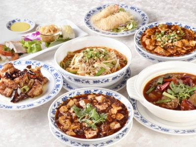 重慶飯店コース料理イメージ