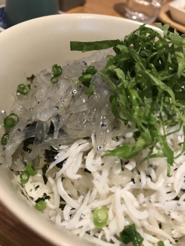 熱海名物「生しらす丼」
