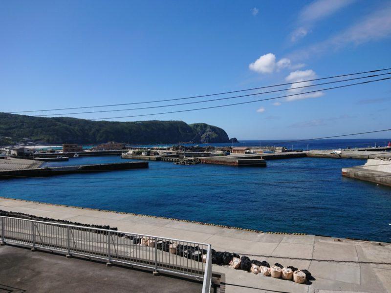 山下旅館 別館(神津島)からの眺望