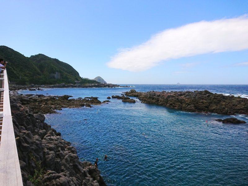 赤崎遊歩道(神津島)