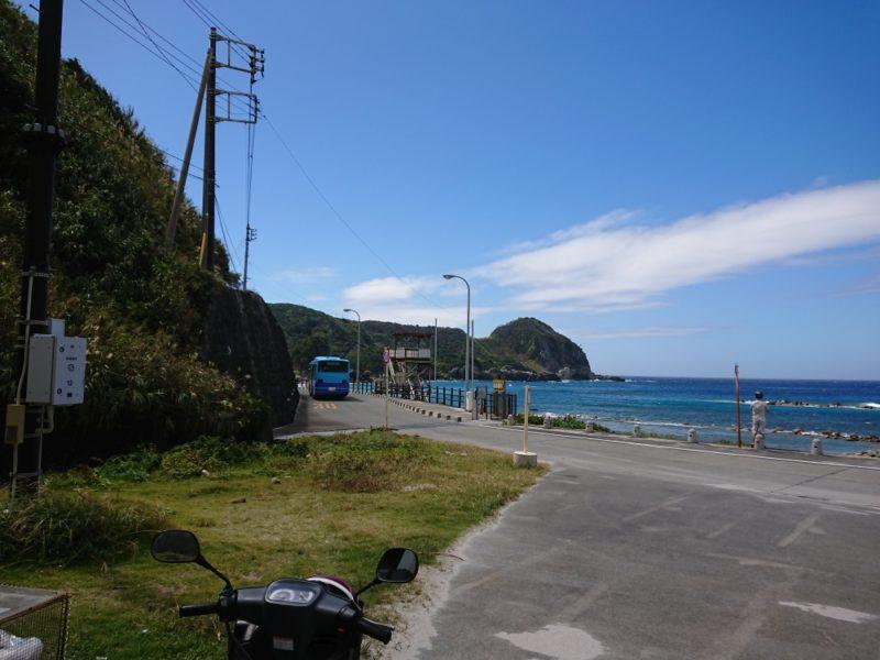 長浜海岸(神津島)