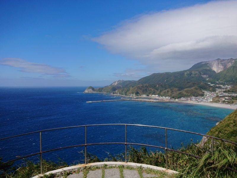 ありま展望台(神津島)