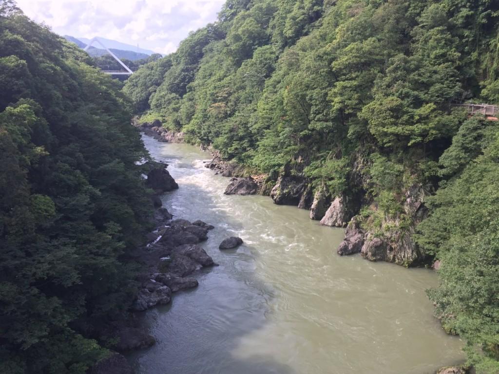 渓流わたらせ川