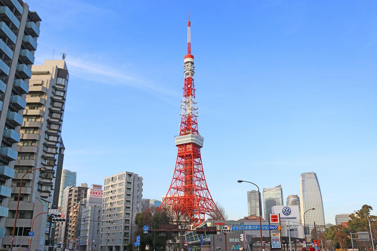 東京タワー観光(VTR)